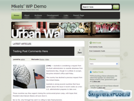 KeKo WordPress Theme