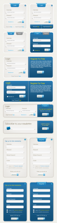 Website form template