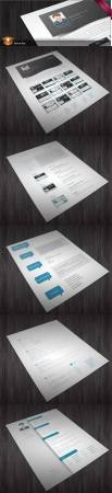 5 CV/Resumes InDesign Templates