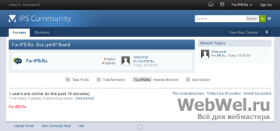 IP.Board 3.2.3 (ENG) Nulled By For-IPB.Ru