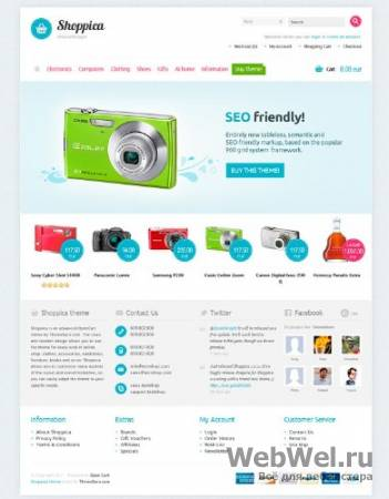Shoppica Premium Theme v1.0.11 for OpenCart 1.5.1.x